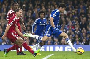 chelsea pull away, toure rescues man city